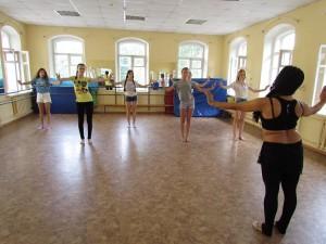 Мастер-класс по восточным танцам